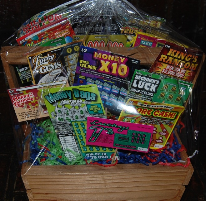 Lottery Scratch Off Baskets | just b.CAUSE